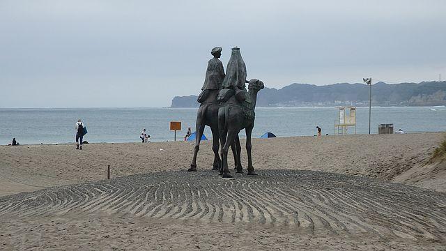 御宿海岸 月の沙漠記念像